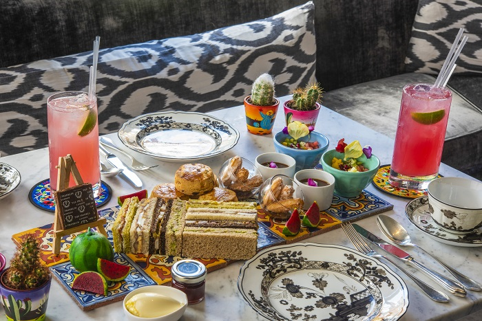 The Franklin launches Frida Kahlo-inspired afternoon tea 1