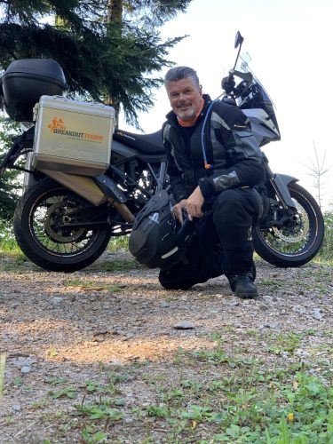 Michael Bresser mit KTM