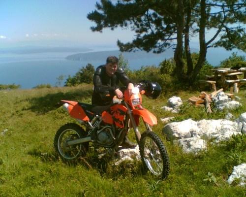 KTM EXC Michael Bresser Croatia