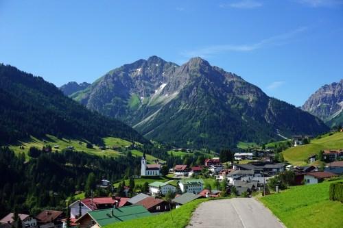 Dorf Allgäu