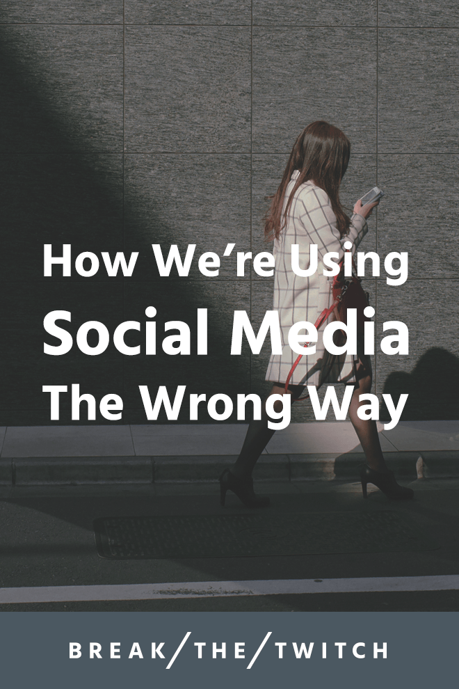 With social media addiction on the rise, is it actually a bad thing? Really, we're just using it wrong, and here's how to change that.