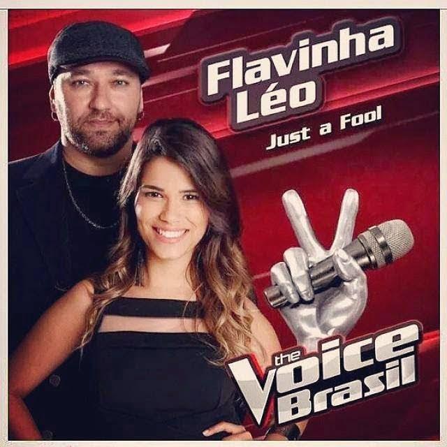 Flávia Souza e Léo (Reprodução/Internet)