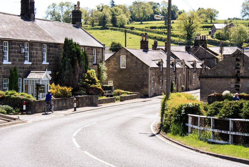 Powburn Village in Northumberland