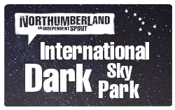 Northumberland International Dark Sky Park logo