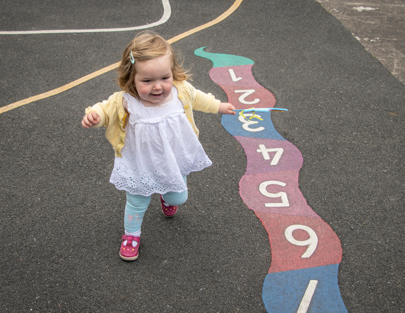 learning to run and count