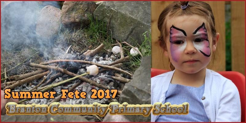 Branton Community Primary School Summer Fete 2017 header