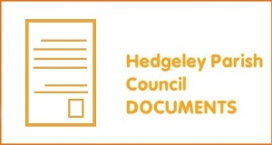 Hedgeley Parish Council documents small