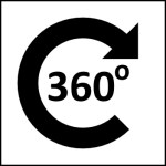 360-degrees icon