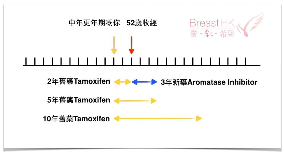 乳癌荷爾蒙藥