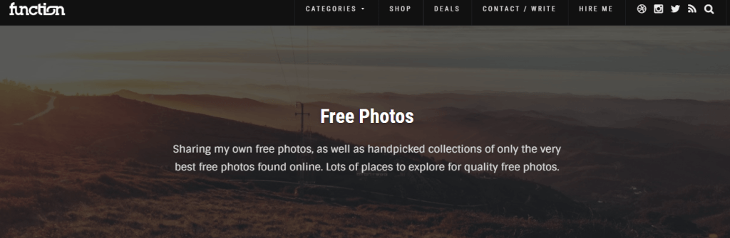 handpicked collections of only the very best free photos found online