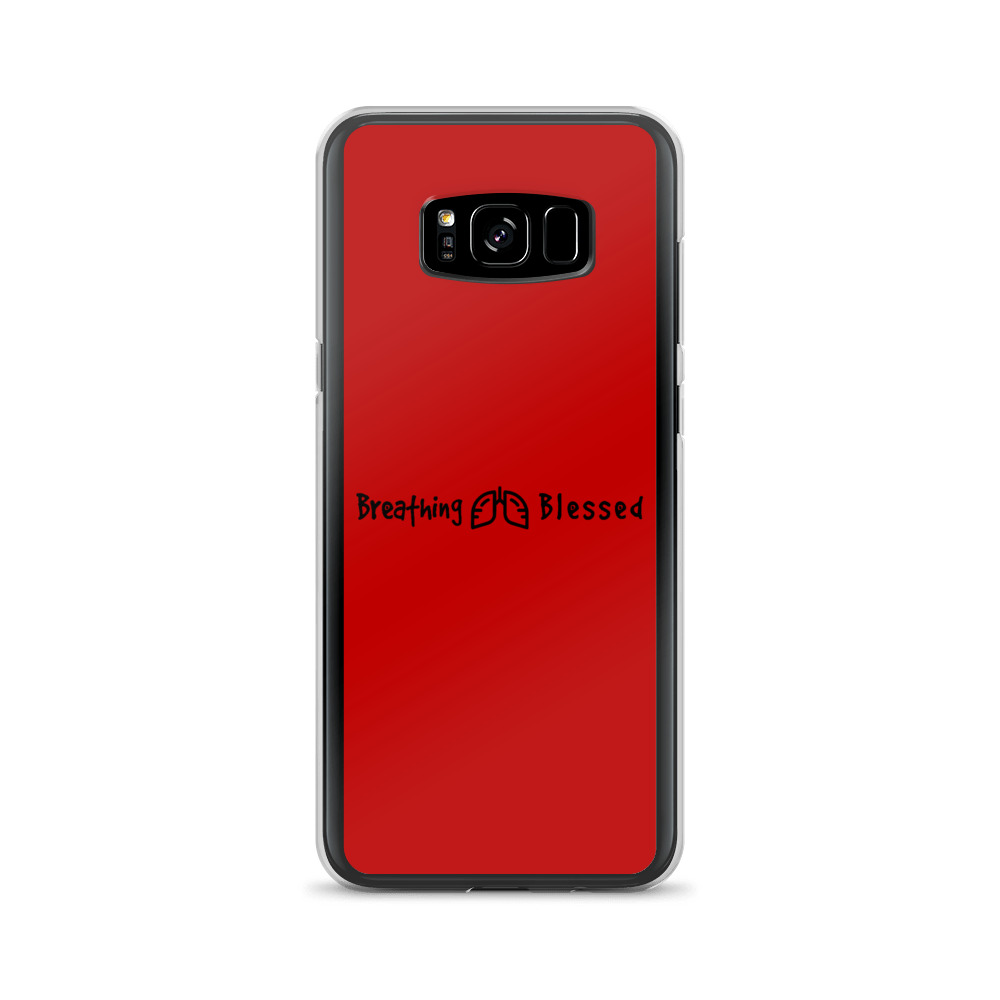 Black & Red Classic Galaxy S8+ Case