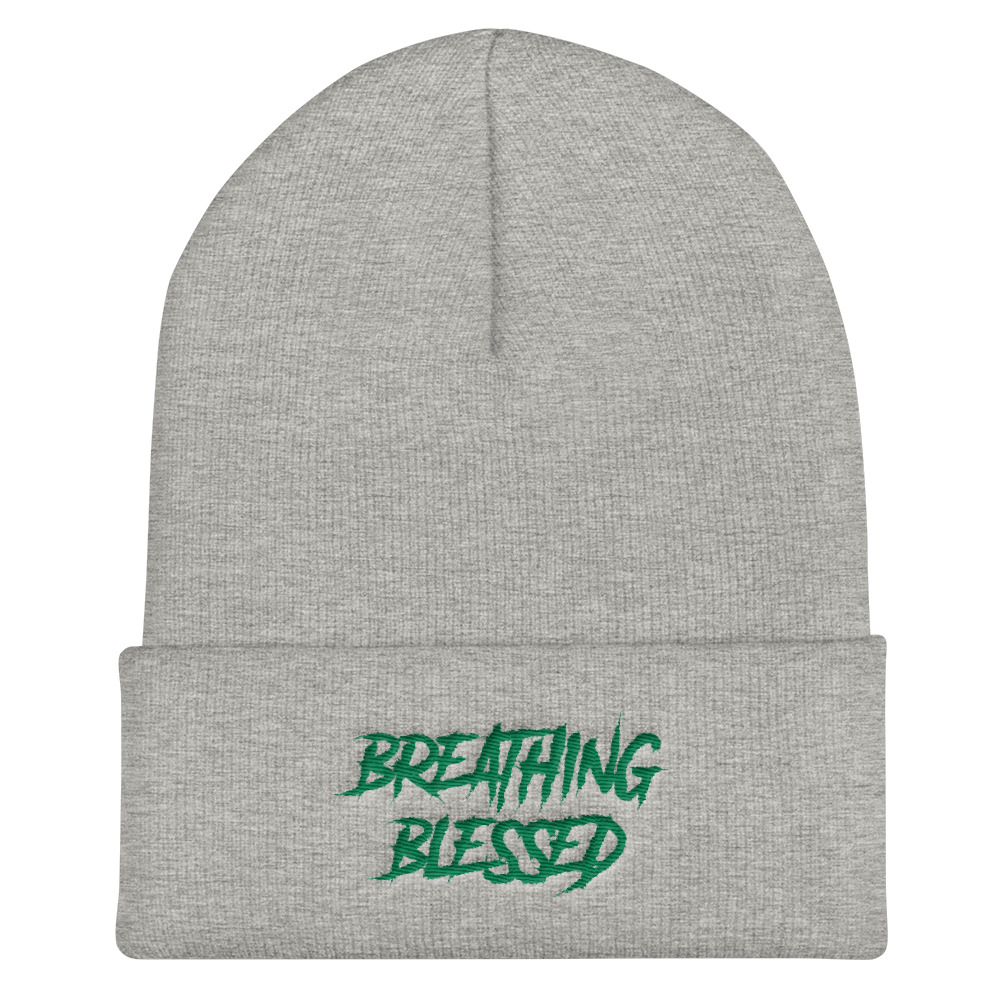 Green Graphic Skully
