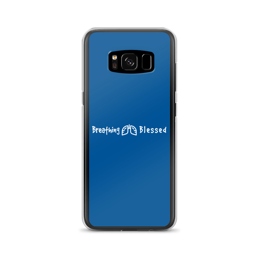 White & Royal Classic Galaxy S8 Case
