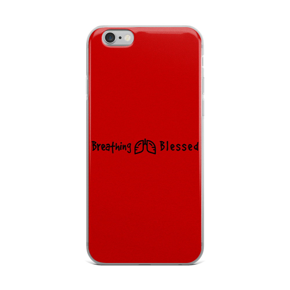 Black & Red Classic iPhone 6 Plus/6s Plus Case