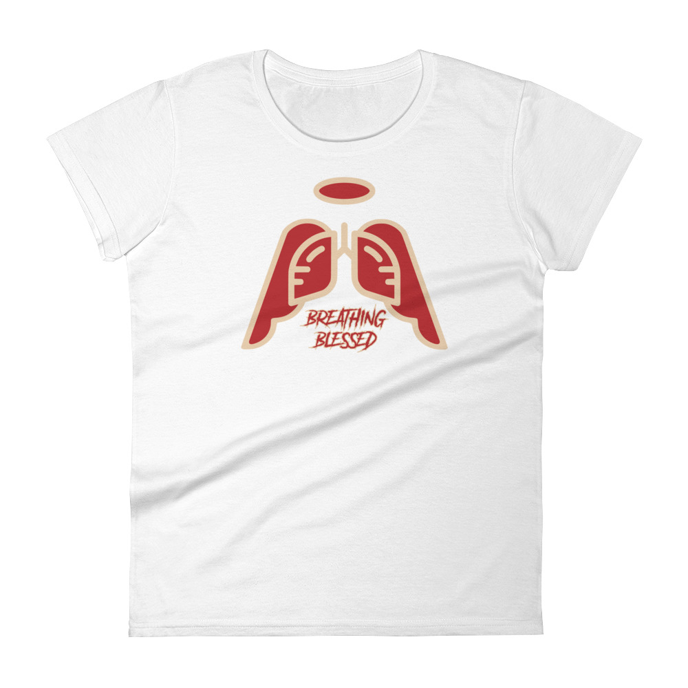 Ladies Delta Crimson Wing Icon T-Shirt