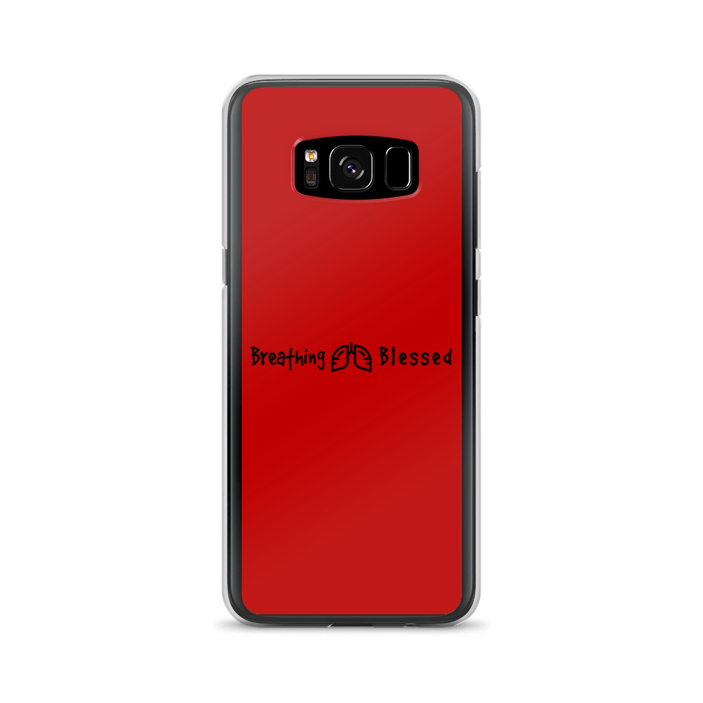 Black & Red Classic Galaxy S8 Case