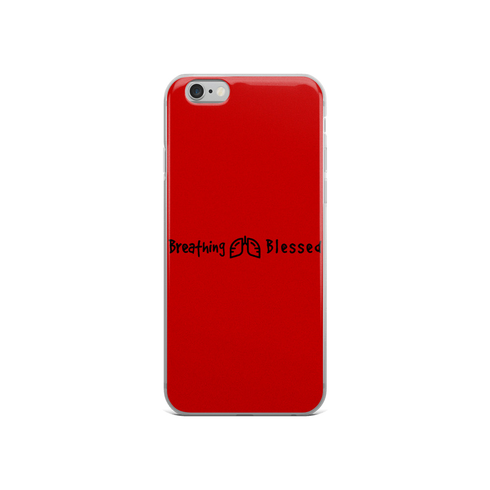 Black & Red Classic iPhone 6/6s Case