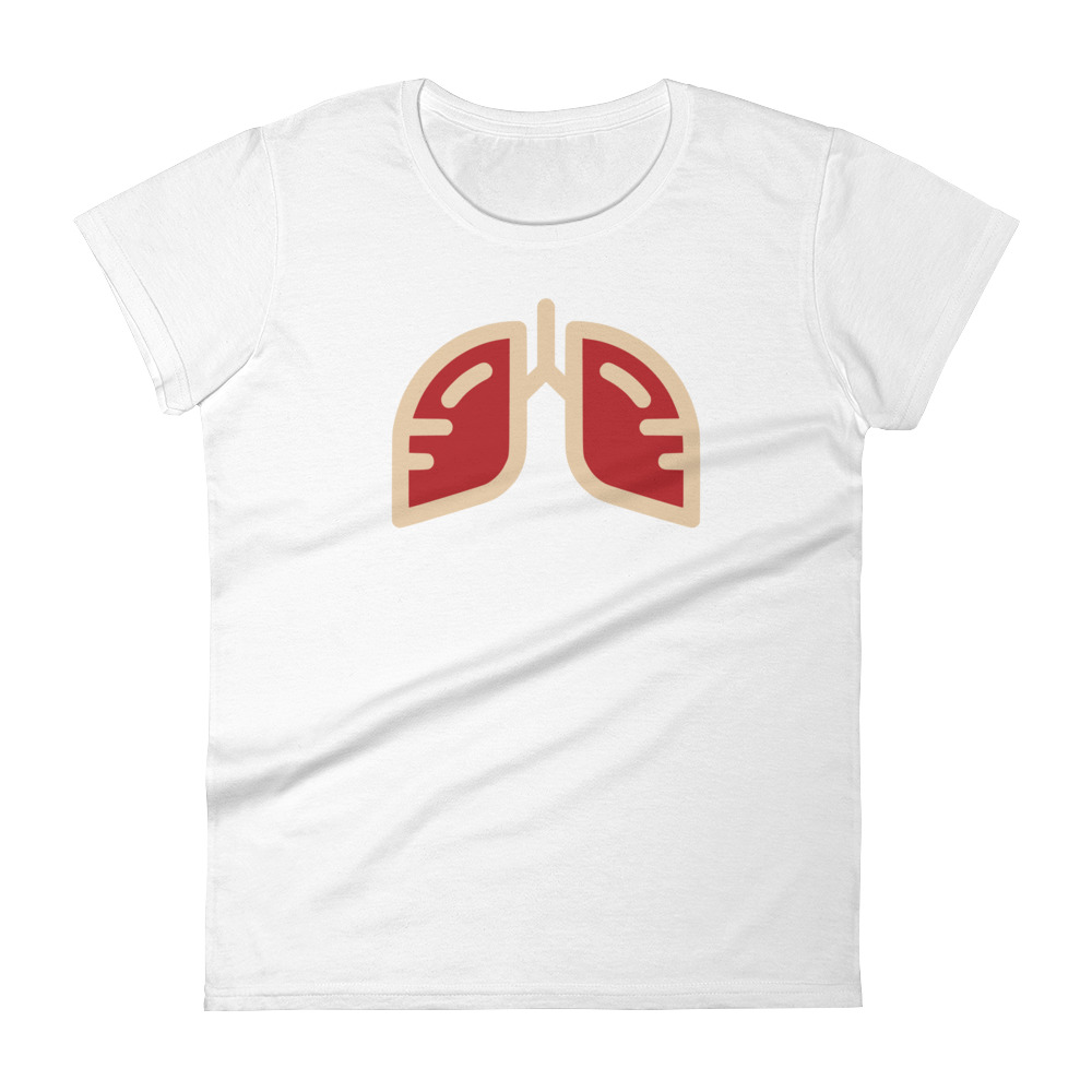 Ladies Delta Crimson Icon T-Shirt