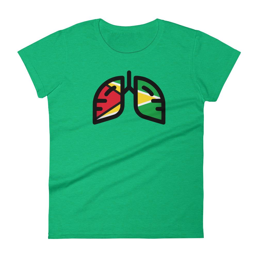 Ladies Breathing Guyana T-shirt