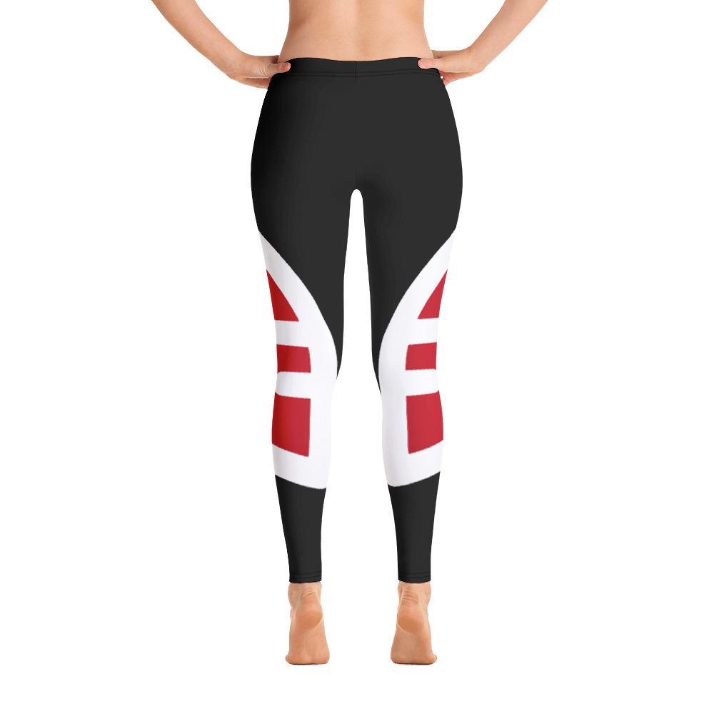 Breathing Antigua & Barbuda Original Black Leggings