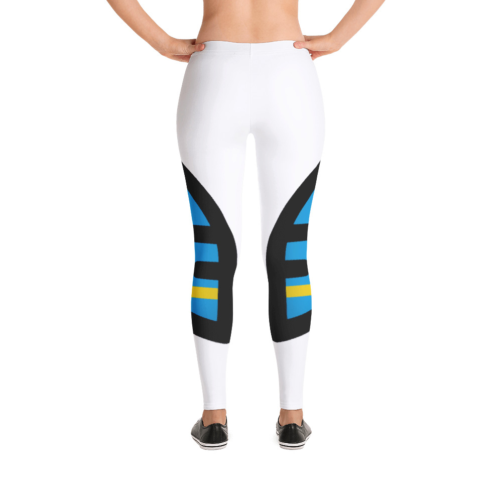 Breathing Aruba White Leggings