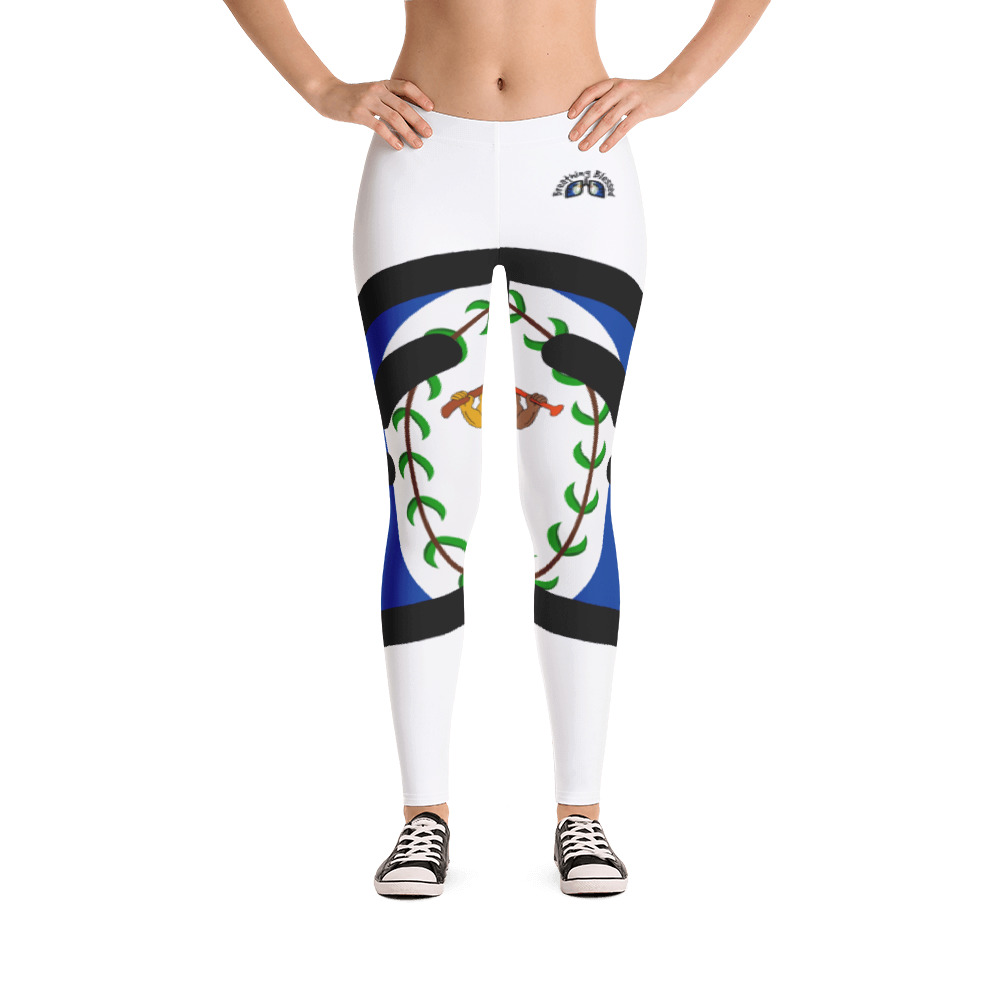 Breathing Belize White Leggings