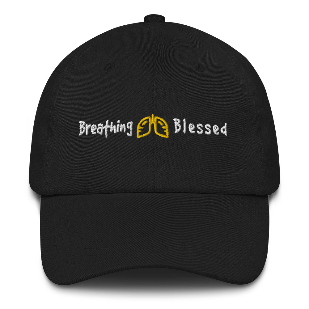 Gold & White Classic Dad Hat