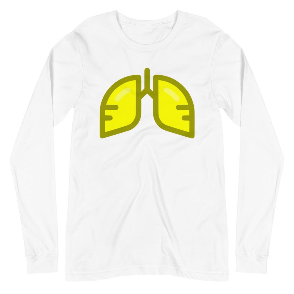 Neon Yellow Icon Long Sleeve Tee