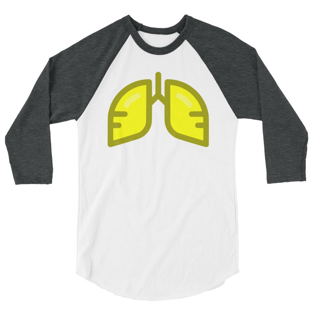 Neon Yellow Icon 3/4 Sleeve Shirt