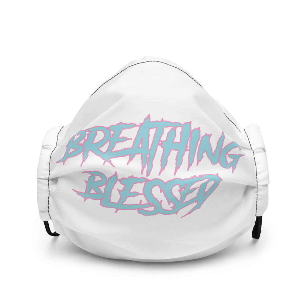 Easter Graphic Premium Face Mask