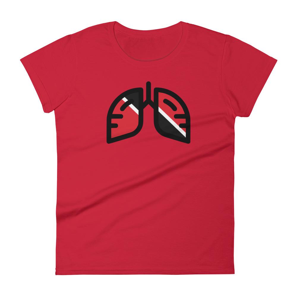 Ladies Breathing Trinidad Original T-shirt