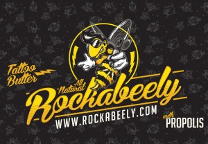 Rockabeely, Illustration, Graphic Design, Packaging, Tattoo, After care, Bee, Character Design, Toronto