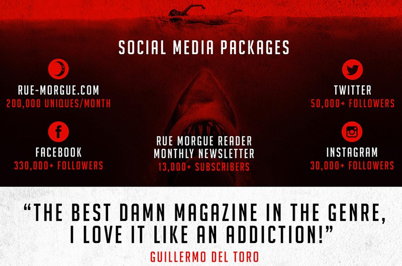 Rue Morgue, Ad Kit, Graphic Design, Promo Kit, Editorial, Layout, Toronto, Horror, Magazine