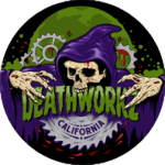 Deathworkz, Lynette Brown, Haunted House, California, Toronto, Breath Of Fresh Air Design, Graphic Design, Logo design, Horror