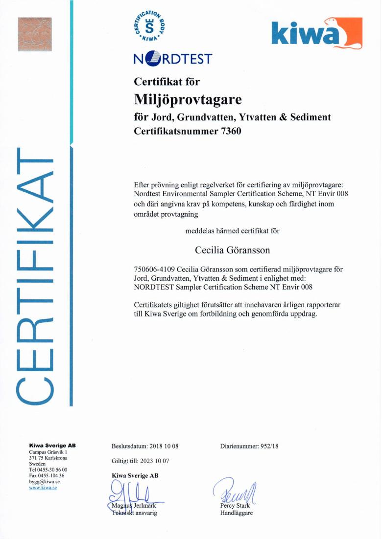 Certifiering provtagning (1)