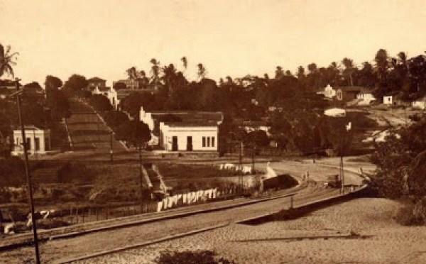 Baldo antes da construção do viaduto