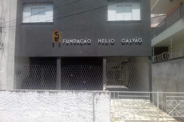 Fachada da Fundação Hélio Galvão
