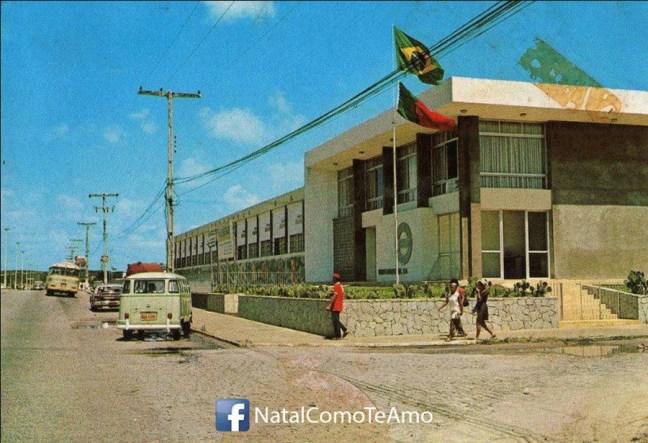 Fábrica na década de 60