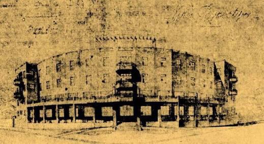 Grande Hotel no início de seu funcionamento (Foto: Tok de História)