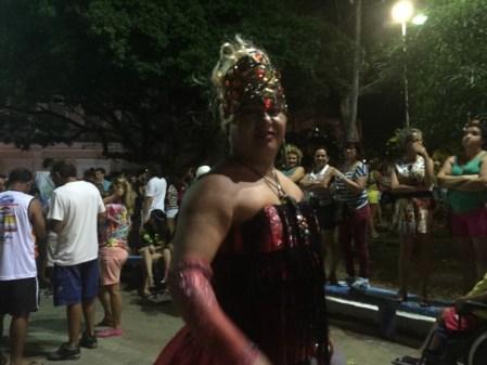 Kengas animam o domingo de carnaval (Fotos: Lara Paiva)