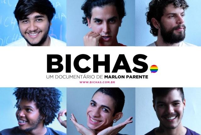 """Participantes do documentário """"Bichas"""""""