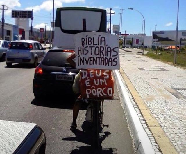 Rogério e sua moto