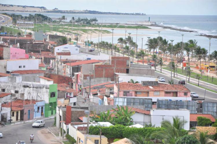 Região onde fica Brasília Teimosa já foi um bairro (Foto: Tribuna do Norte)