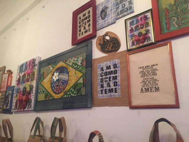 Exposição de Civone Medeiros no Nalva Melo Café Salão