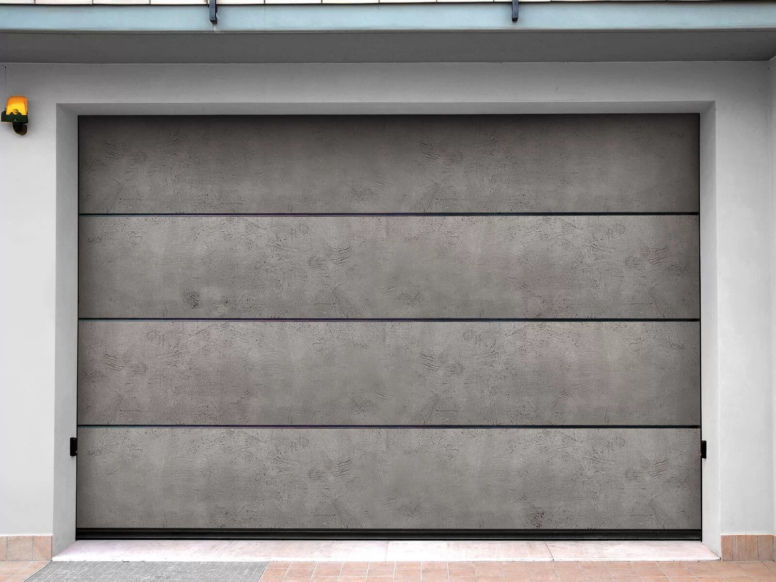 Portone di design Le Perle SANDSTONE JEWELS - Cemento Flex Rude