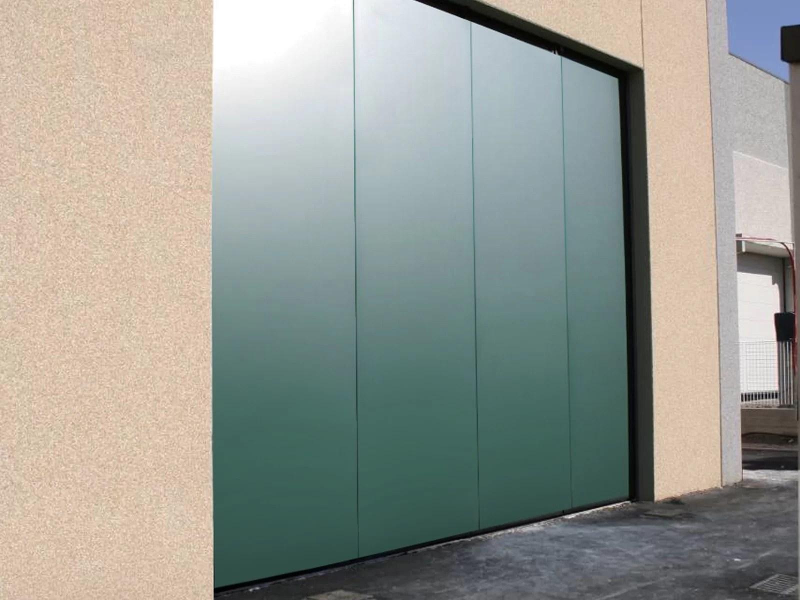 Portone scorrevole industriale ATLANTE - Verde RAL 6005