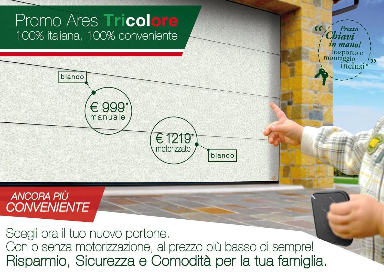 Promo Ares Tricolore bianco C21