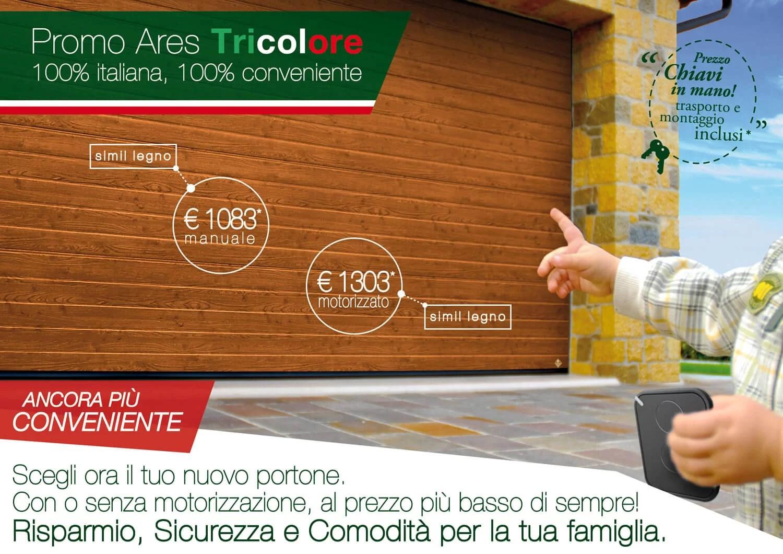 Promo Ares Tricolore bianco quercia