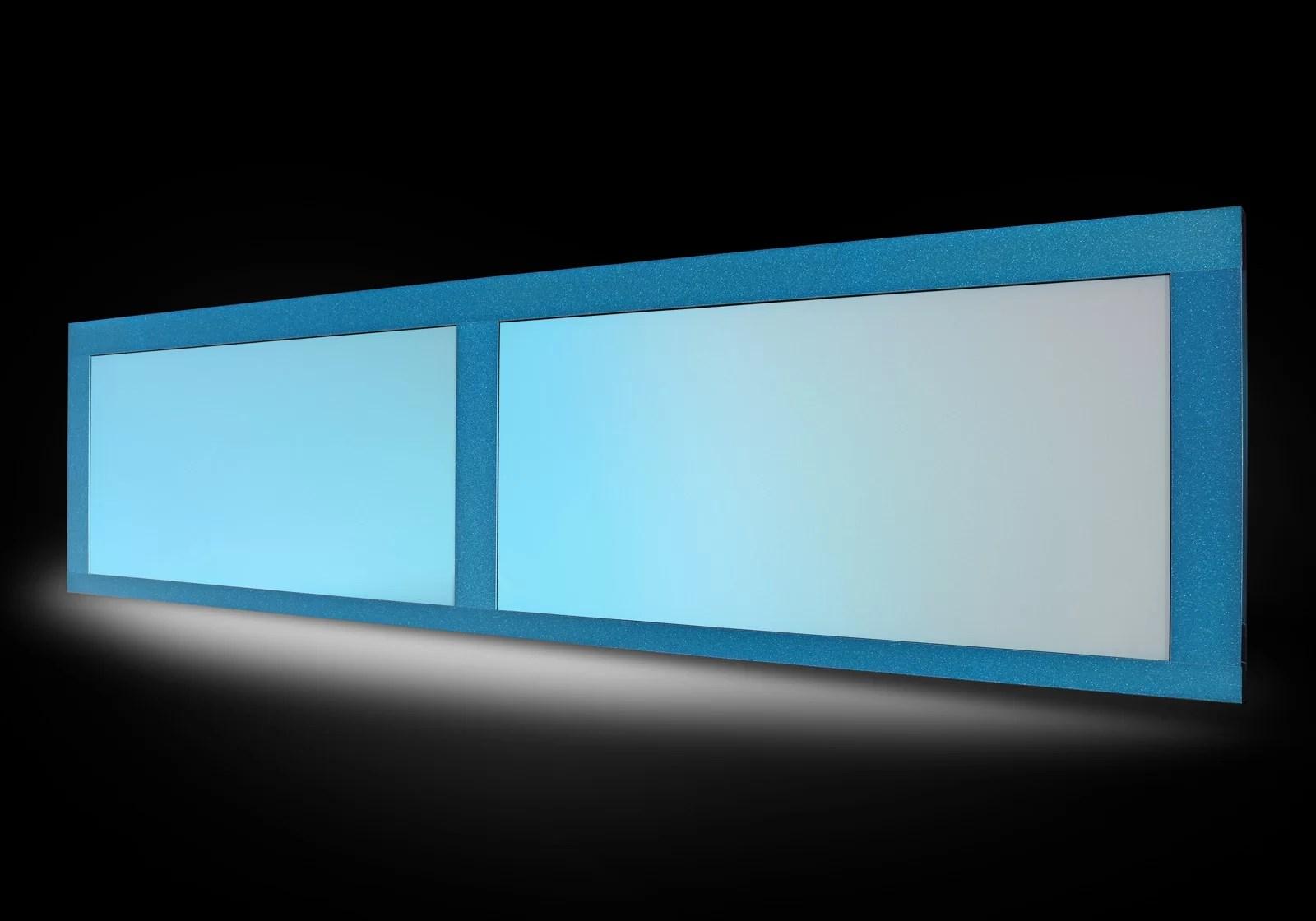 Iridescenti - Sezione Azzurro Perlato