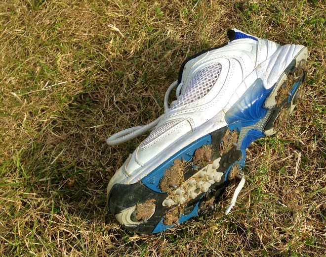 lost property: cricket spikes